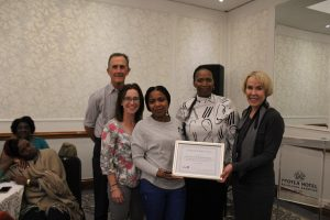 Effective Care Research Unit (ECRU) Team receives award